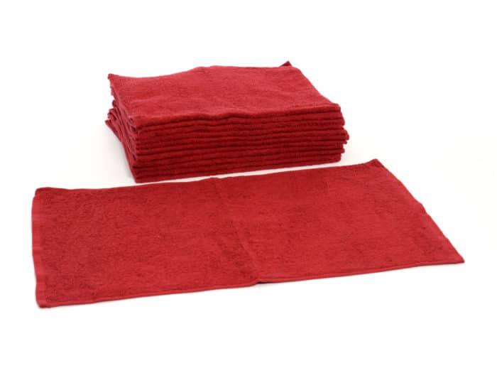 Burgandy Cotton Terry Towel Bro-Tex Customized Wiping