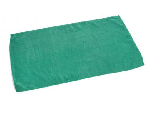Green Microfiber Towel for Car Wash Bro-Tex Customized Wiping