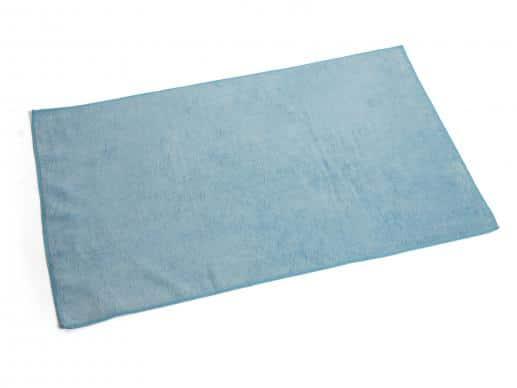 Heavy Blue Microfiber Cloth Bro-Tex Customized Wiping