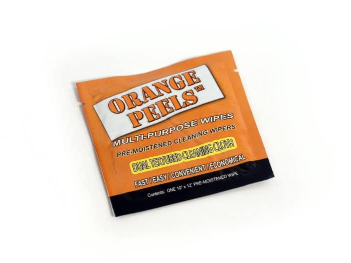 Orange Peels Wipe for Grease 20125
