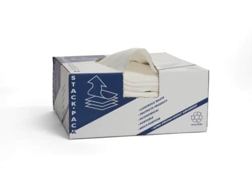 Smooth White Spunlace Stack Pack 67105