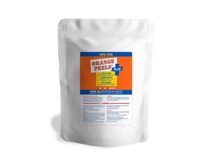 orange peels plus refill pack item 20214 Bro-Tex Customized Wiping