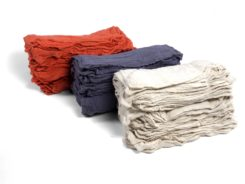 red white blue shop towels Bro-Tex Customized Wiping