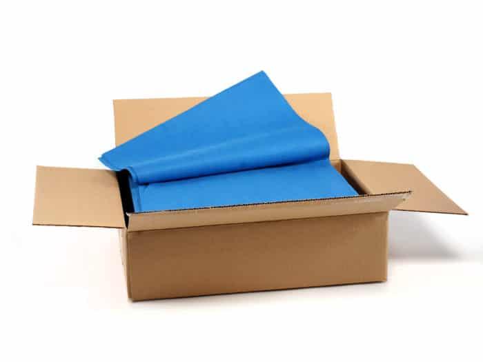 Microspun Blue Flat Pack Bro-Tex Customized Wiping